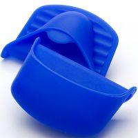 Прихватка синего цвета 10, 5х8см из силикона, Mayer&Boch, 22080N2