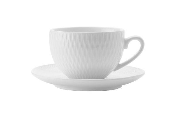 Чашка с блюдцем Даймонд без индивидуальной упаковки, MW688-DV0029