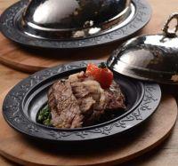 Сковорода LAVA 28x20 см литая порционная чугунная с медной крышкой LVECOODNR2820K4K8