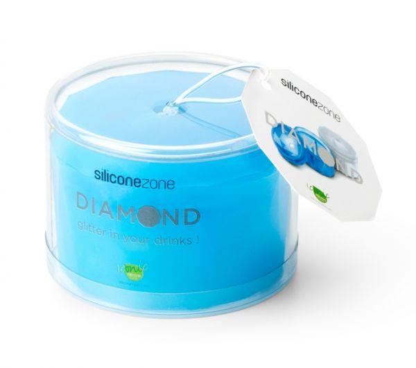 "Форма для льда ""Diamond"" (Blue) SILICONE ZONE"