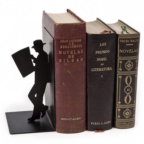 Держатель для книг Balvi The Reader черный 25330