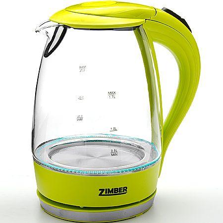 Электрический чайник стекло 1,7л 2200Вт ZIMBER, 11175