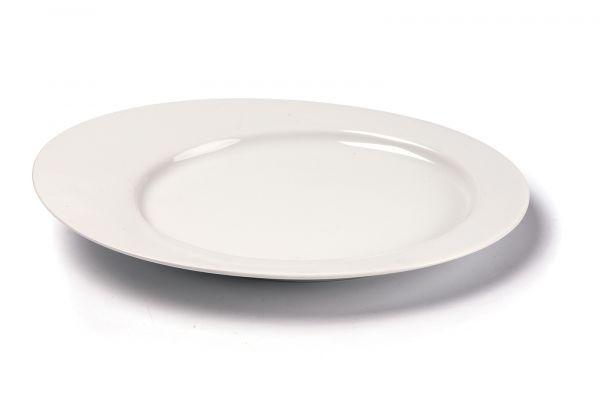 Тарелка десертная овальная 25 см, Tunisie Porcelaine, серия ASYMETRIQUE