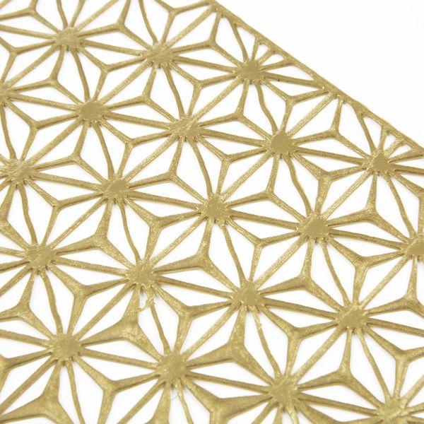 Салфетка Chilewich KALEIDOSCOPE подстановочная материал винил 36 см Brass 100488-004