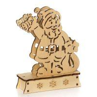 Декорация с подсветкой: фигурка «Дед мороз» 11x14,5 см DP-C38-14049