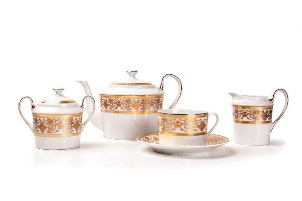 Сервиз чайный 15 предметов, La Rose des Sables, серия MIMOSA Ramses Or, 679509 0632