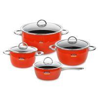 Набор посуды KOCHSTAR из 4-х предметов, цвет оранжевый NEO Orange, ORANGE-2
