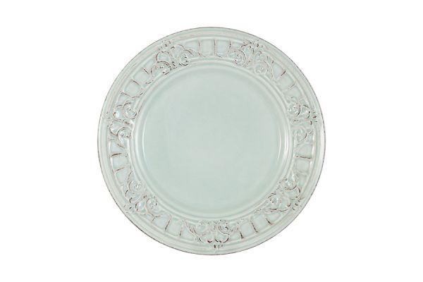 Тарелка закусочная Venice (голубая) без индивидуальной упаковки, MC-F430901350D0053