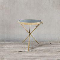 Стол приставной ROOMERS 60x52x52 см цвет матовый золотой Z0189 31#A