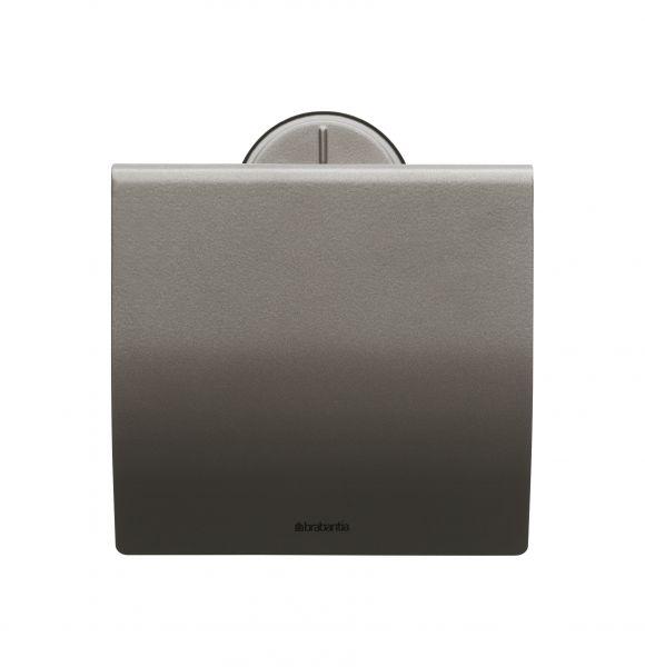 Держатель для туалетной бумаги Brabantia 380 г цвет платиновый 483363