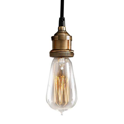 Светильник RESTORATION HARDWARE «Делюкс» 17x17 см цвет золотой DTL9113