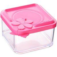 Контейнер пластик 330 мл розовый, Mayer&Boch, 80529