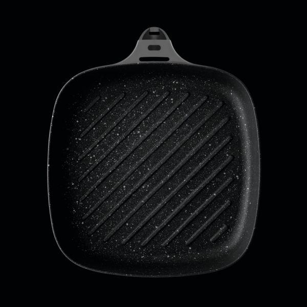 Сковорода-гриль BergHOFF Gem grey 24 см 2307428