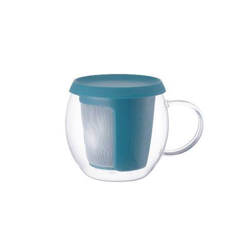 Кружка-чайник Kinto 350 мл цвет синий 22777