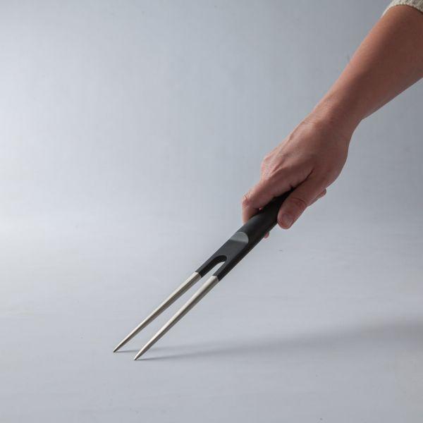 Вилка для мяса BergHOFF Ron 17 см цвет черный 3900005