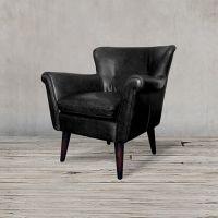 Кресло ROOMERS, S0117-1D/black B#76