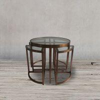Стол приставной ROOMERS 55x60x60 см Z0149A/Z0150A/CM #30A
