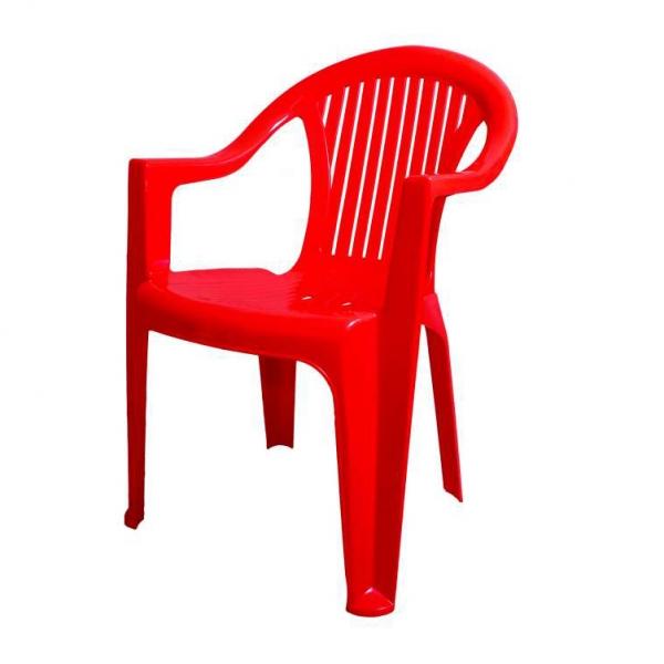 Кресло STANDART PLASTIK КЛАССИК цвет красный KR09