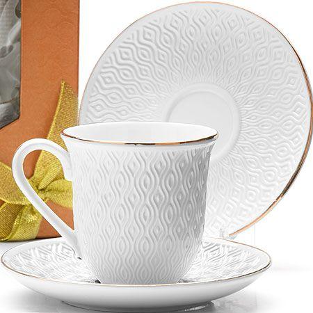 Чайный набор 240 мл фарфоровый Lorain, 25778