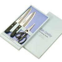 """Набор ножей Tojiro """"Tadateru-Saku"""" (Нож универсальный 150мм Нож Сантоку 170 мм и Нож Шеф 180 мм) FC-105"""