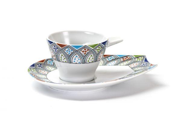 Чашка чайная, 200 мл, Tunisie Porcelaine, серия MONALISA