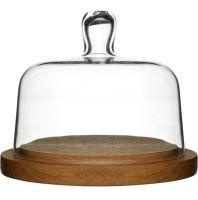 Тарелка для хранения сыра с крышкой SAGAFORM, 5026044