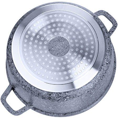 Кастрюля Mayer&Boch «ГРАНИТ» 1,5 л 16 см алюминиевая 29019
