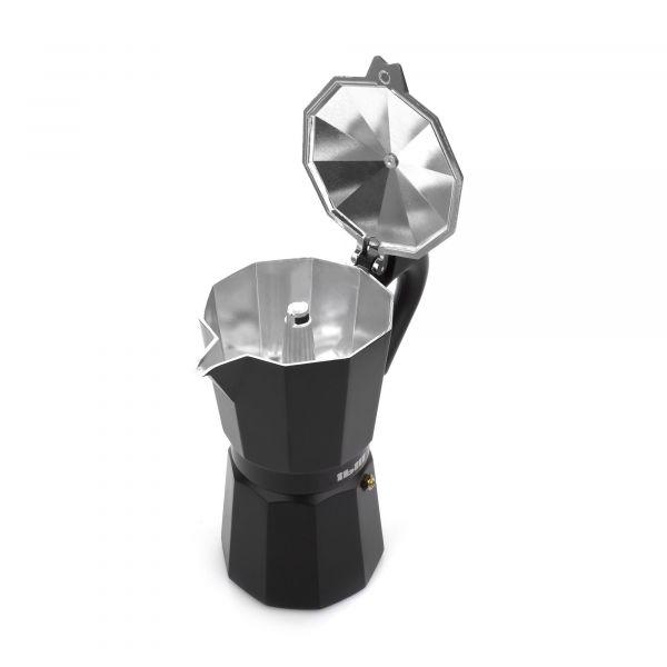 Кофеварка гейзерная на 6 чашек IBILI Bahia Black, 612206