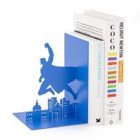 Держатель для книг Balvi Superhero синий 26708