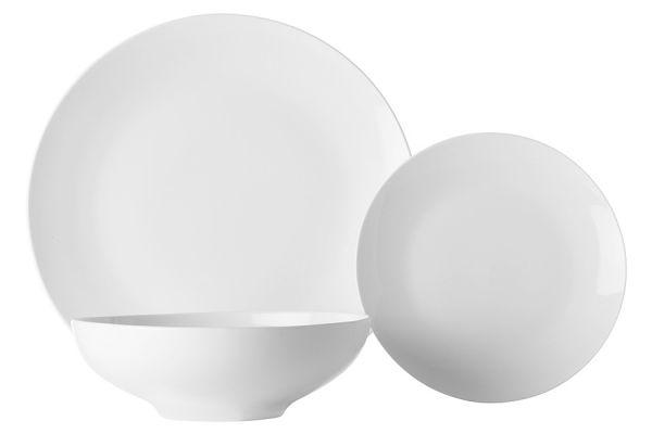 Набор обеденный 12 предметов, Белая коллекция в подарочной упаковке, MW504-FX0147