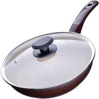 Сковорода с покрытием из мраморной крошки24 см, с крышкой Mayer&Boch, 23568