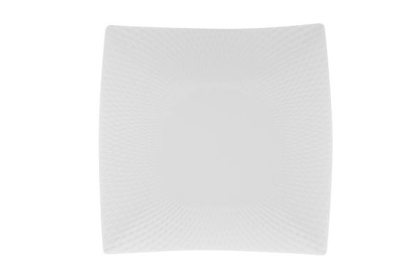 Тарелка квадратная Даймонд без индивидуальной упаковки, MW688-JX260023