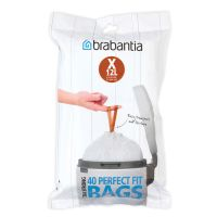 Пакет пластиковый, X 10-12 л 40 шт BRABANTIA, 116841