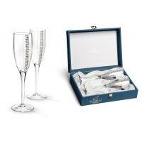 Набор бокалов для шампанского Гамма «Регина Сваровски» GA3050100AL