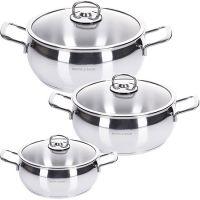 Набор посуды 6 предметов 1,6+2,2+2,4 л Mayer&Boch, 80271