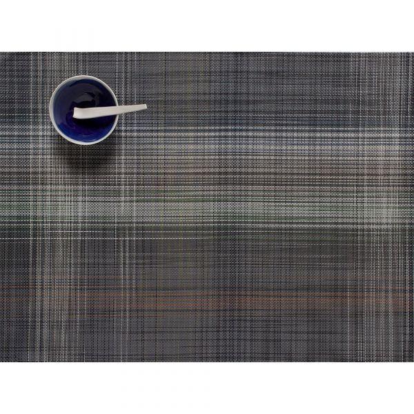Салфетка подстановочная, винил, 36х48 см, GREY, серия Plaid, CHILEWICH