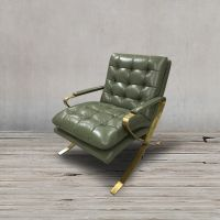 Кресло ROOMERS 79x64x87 см C0251-1D/B135#Green