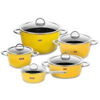 Набор посуды KOCHSTAR из 5-ти предметов, цвет желтый NEO Yellow, YELLOW-3