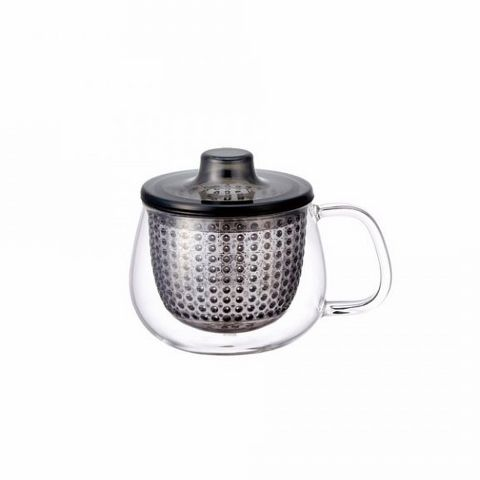 Кружка-чайник Kinto 350 мл цвет серый 22917