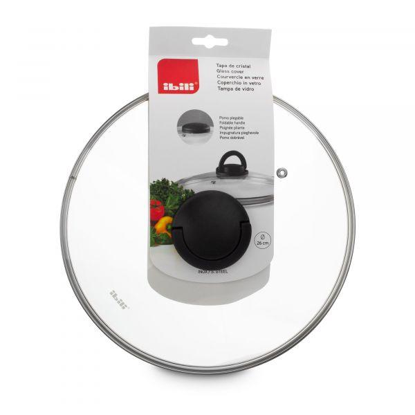 Крышка IBILI Kitchen Aids 20 см стеклянная 970920