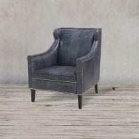 Кресло C0175-1D/blue #A75