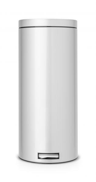 Мусорный бак Brabantia с педалью 30 л с металлической внутренниим ведром 217227