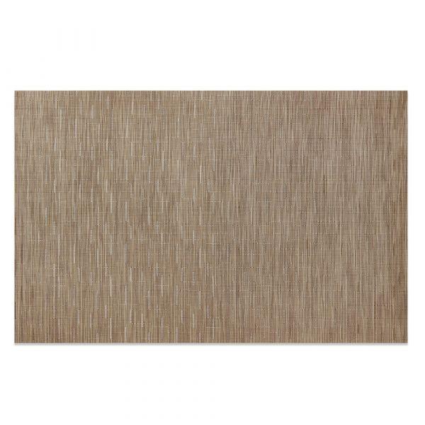 Салфетка Chilewich BAMBOO подстановочная жаккардовое плетение материал винил 36x48 см Camel 0025-BAMB-CAME