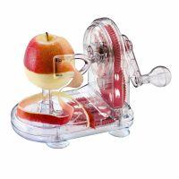 Устройство для снятия яблочной кожуры, прозрачное/зеленое, MOHA 45414