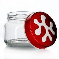 Банка для хранения Herevin 400 мл красная 135357-001