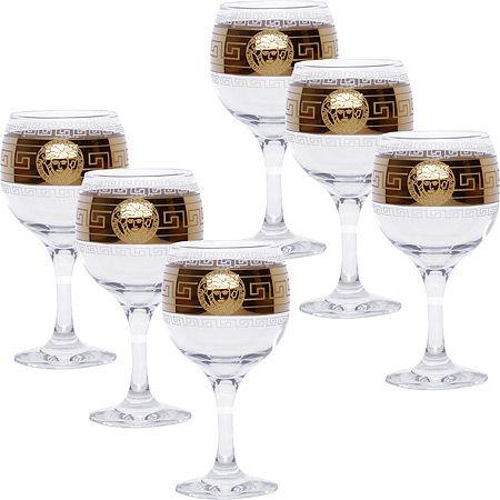 Набор стаканов для вина «Йети» 6 шт 411/41