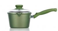 Ковш со стеклянной крышкой Risoli Dr Green Induction 16 см, 0095BDRIN/16
