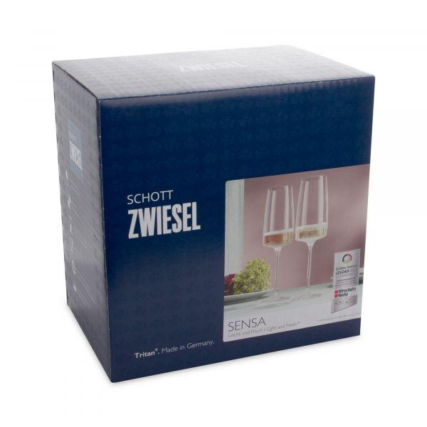 Набор фужеров для шампанского 388 мл SCHOTT ZWIESEL Sensa 6 шт, 120 591-6