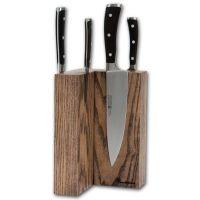 Угловая магнитная подставка для ножей Woodinhome KS003SOB