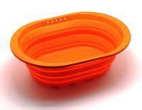 Контейнер для продуктов Atlantis Silicon складной оранжевый SC-SB-017-O